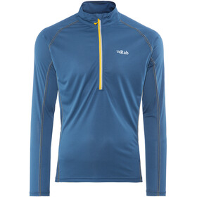 Rab Interval LS Zip Tee Men Ink